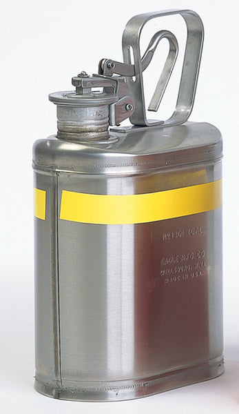 1 Gallon 316 Stainless - Lab Safety Can - Eagle