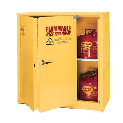 30 Gallon Sliding Self Closing Standard 30 Flammable Liquid Safety Cabinet - Eagle