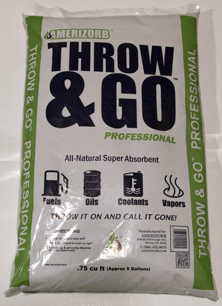 AmeriZorb Throw and Go Professional (75 bags) - Amerizorb