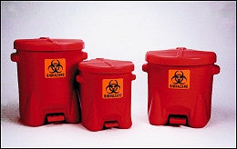 14 Gallon BioHazardous Waste Can - Eagle