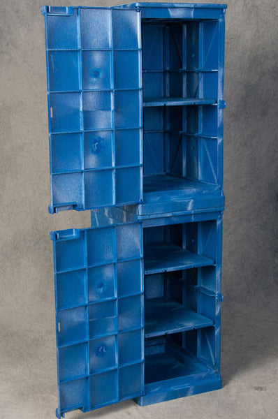 24 Gallon Manual Closing Modular Quik-Assembly Safety Cabinet - Eagle