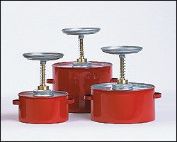 Metal Safety Plunger - 4 Qt Metal