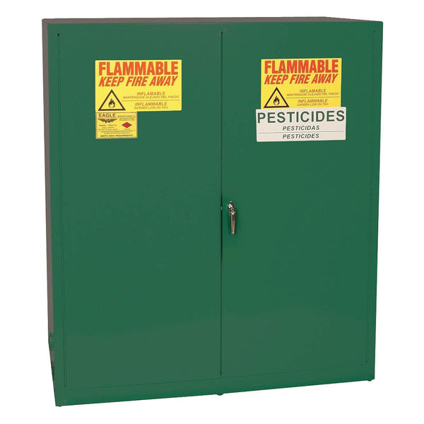 110 Gallon Manual Closing Pesticide Safety Cabinet - Eagle