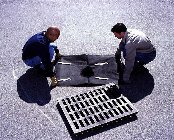 DrainGuard Recycled Model - Storm Drain Filter, Catch Basin Insert - UltraTech
