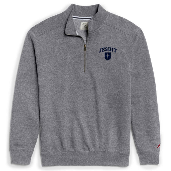 League tri-blend collegiate 1/4 zip