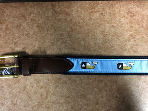 Vineyard Vines Whale Belt