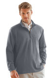 ¼-Zip Flat-Back Rib Pullover (3 colors)