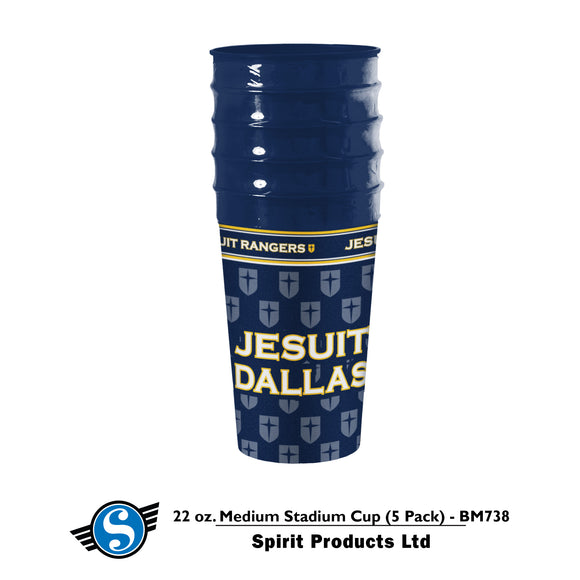 22oz Jesuit Stadium Cup (5 pack)