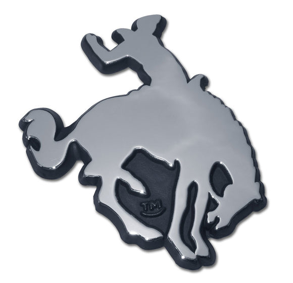 Chrome Bronco Auto Emblem