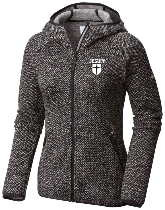 Women's Columbia full zip hooded Fleece