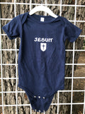 Baby Jersey Short Sleeve Onesie (2 colors)