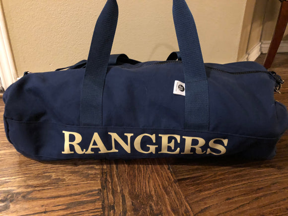 Personalized Canvas Athletic Bag