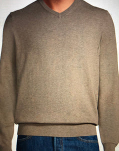 Knit Pullover V-Neck Sweater (3 colors)