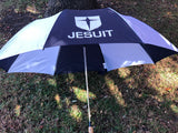 Large Navy/White Storm Umbrella
