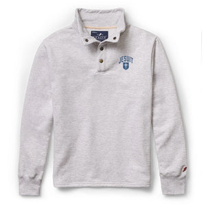 League Fleece Snap Button Pullover Sweatshirt