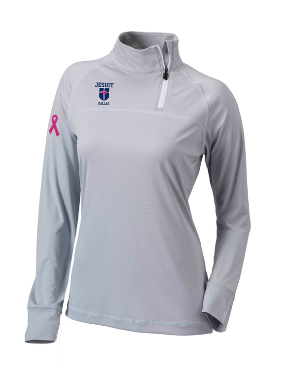 Women's Columbia Breast Cancer awareness 1/4 zip