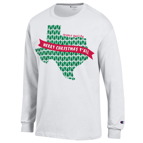 Jesuit long sleeve Christmas Tshirt