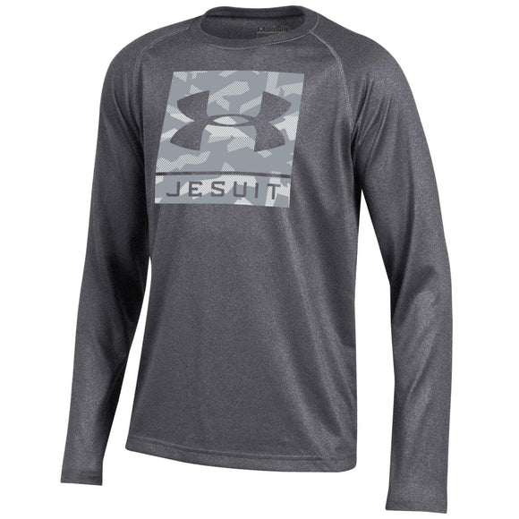 UA Youth LS Tech Tee (2 colors)