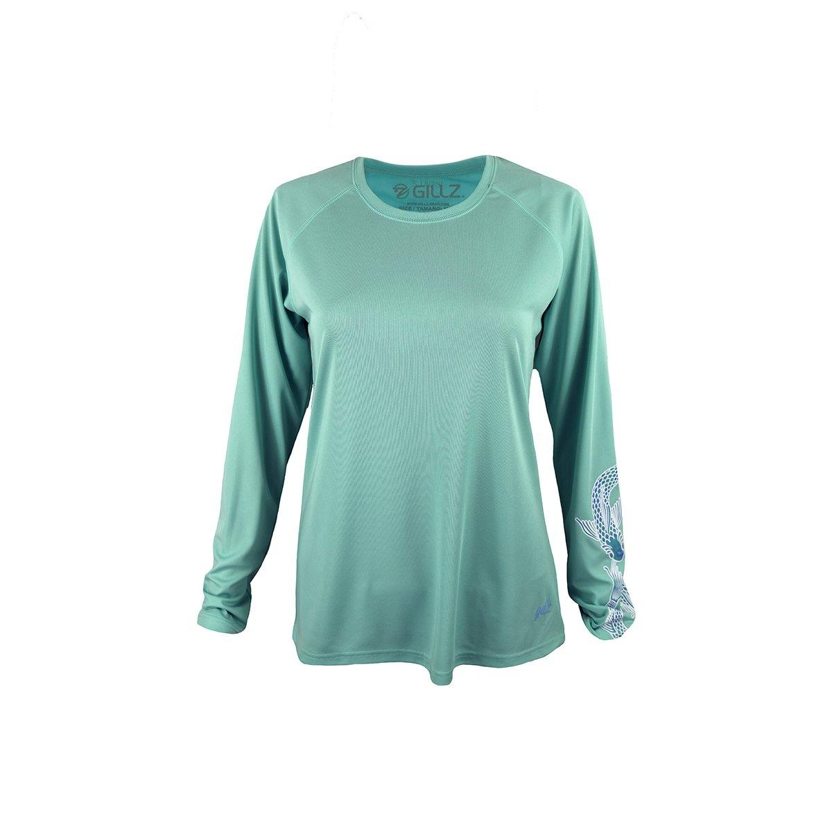 "Gillz Women's Long Sleeve UV ""Infinity Fish"""