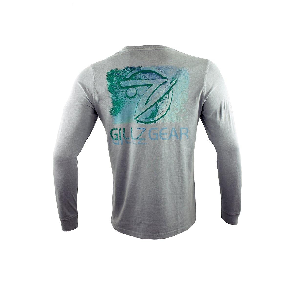 "Men's Long Sleeve Pigement Dyed ""Fishhead Logo"""