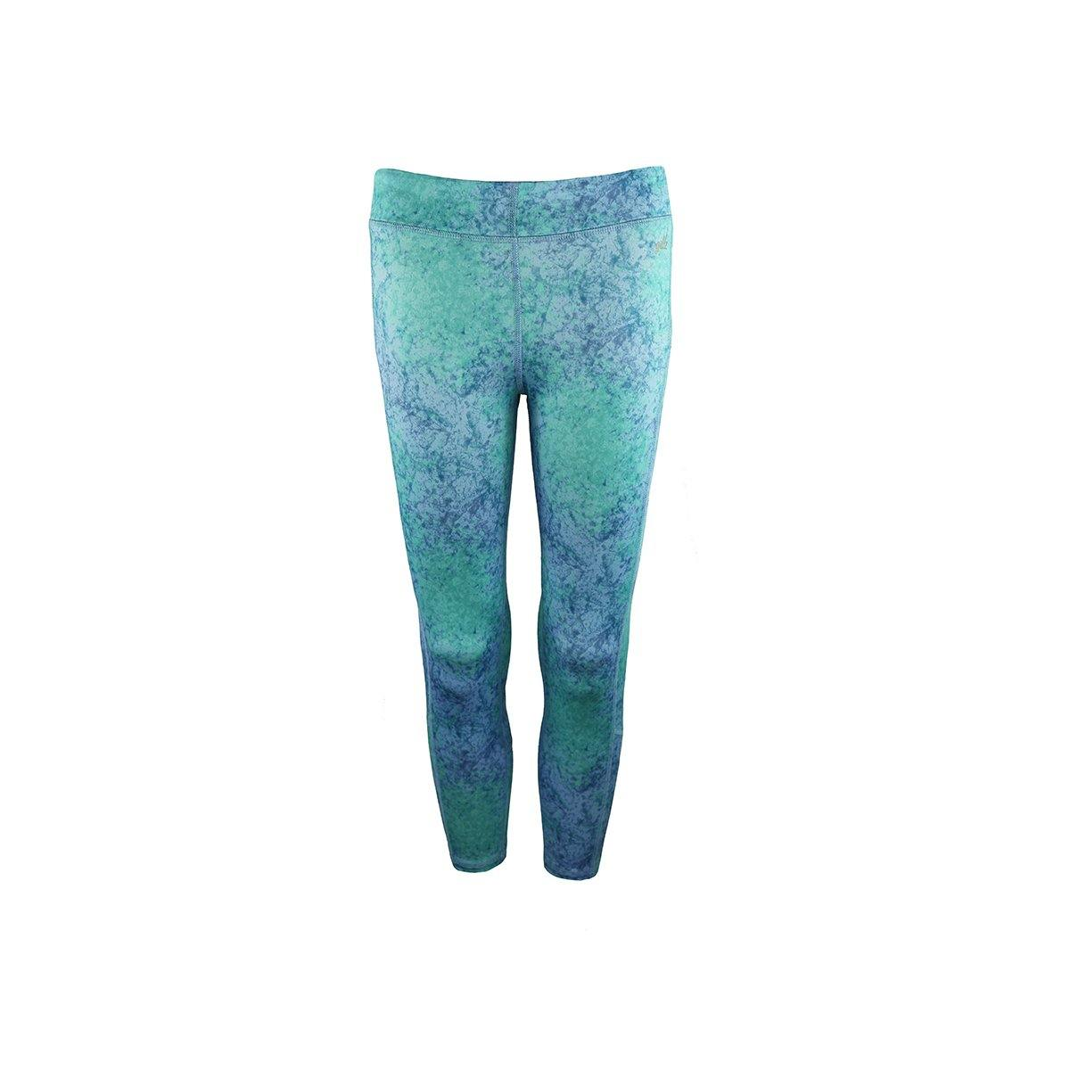 "Gillz Women's Capri legging ""All Over Print"" - Placid Blue"