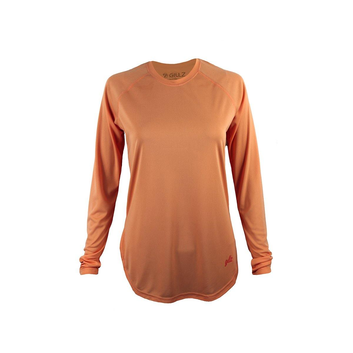 Gillz Women's Long Sleeve Seabreeze V2 - Papaya Punch