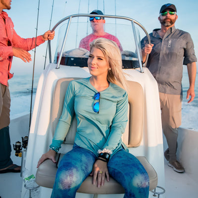 Gillz Women's Long Sleeve SeaBreeze -Bristol Blue