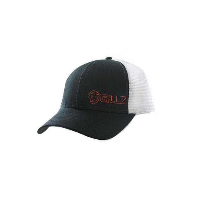Gillz Hat - Black Two-Tone Mesh Neon Logo - Gillz