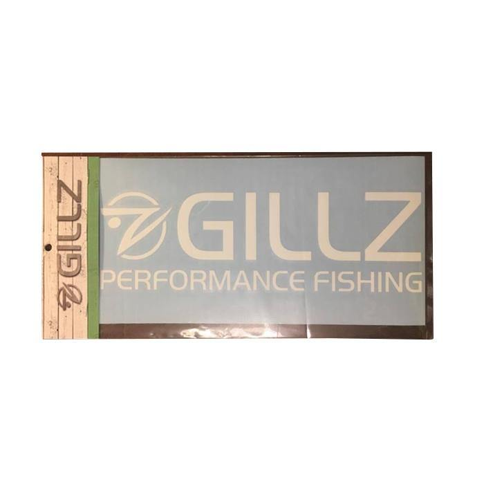 "11"" GILLZ Decal - White"