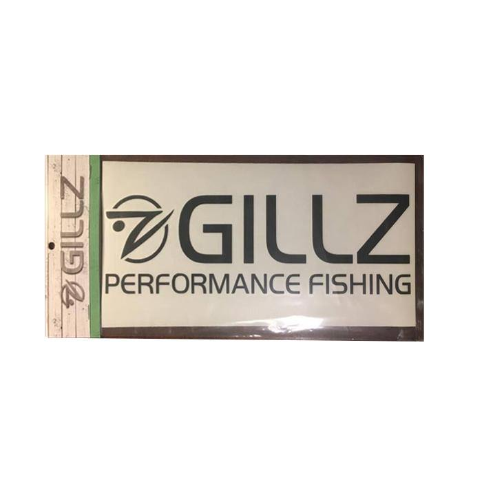 "11"" GILLZ Decal - Black"