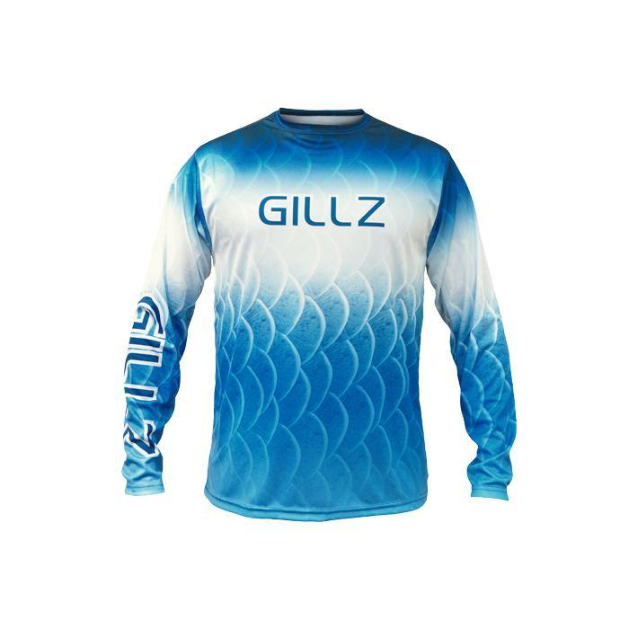 Extreme Scales - Blue LS Shirt - Gillz