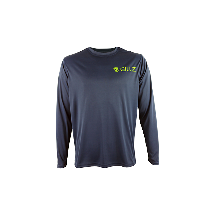 "Gillz Men's Long Sleeve UV ""Mahi Photo Reel"" - Outer Space"