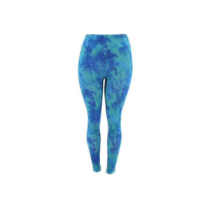 Capri Leggings Grunge Scales