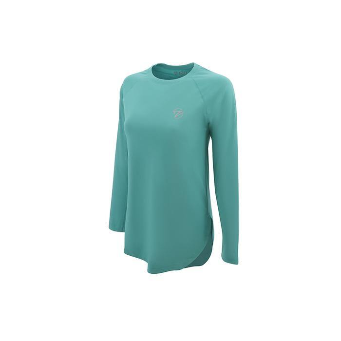 SeaBreeze Long Sleeve Fishing Shirt-Bristol Blue
