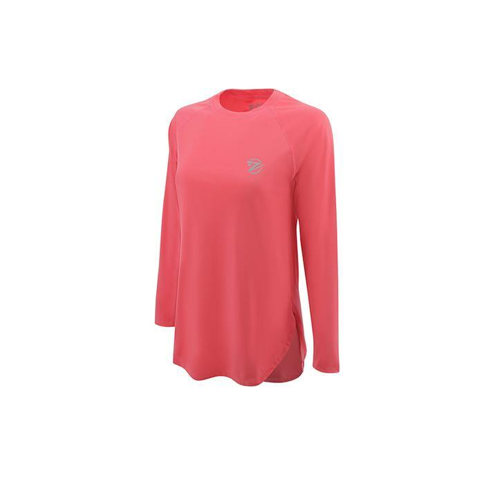 SeaBreeze Long Sleeve Fishing Shirt - Coral