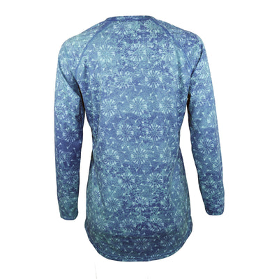 "Gillz Women's Long Sleeve UV ""Sundial Fish All Over Print"""