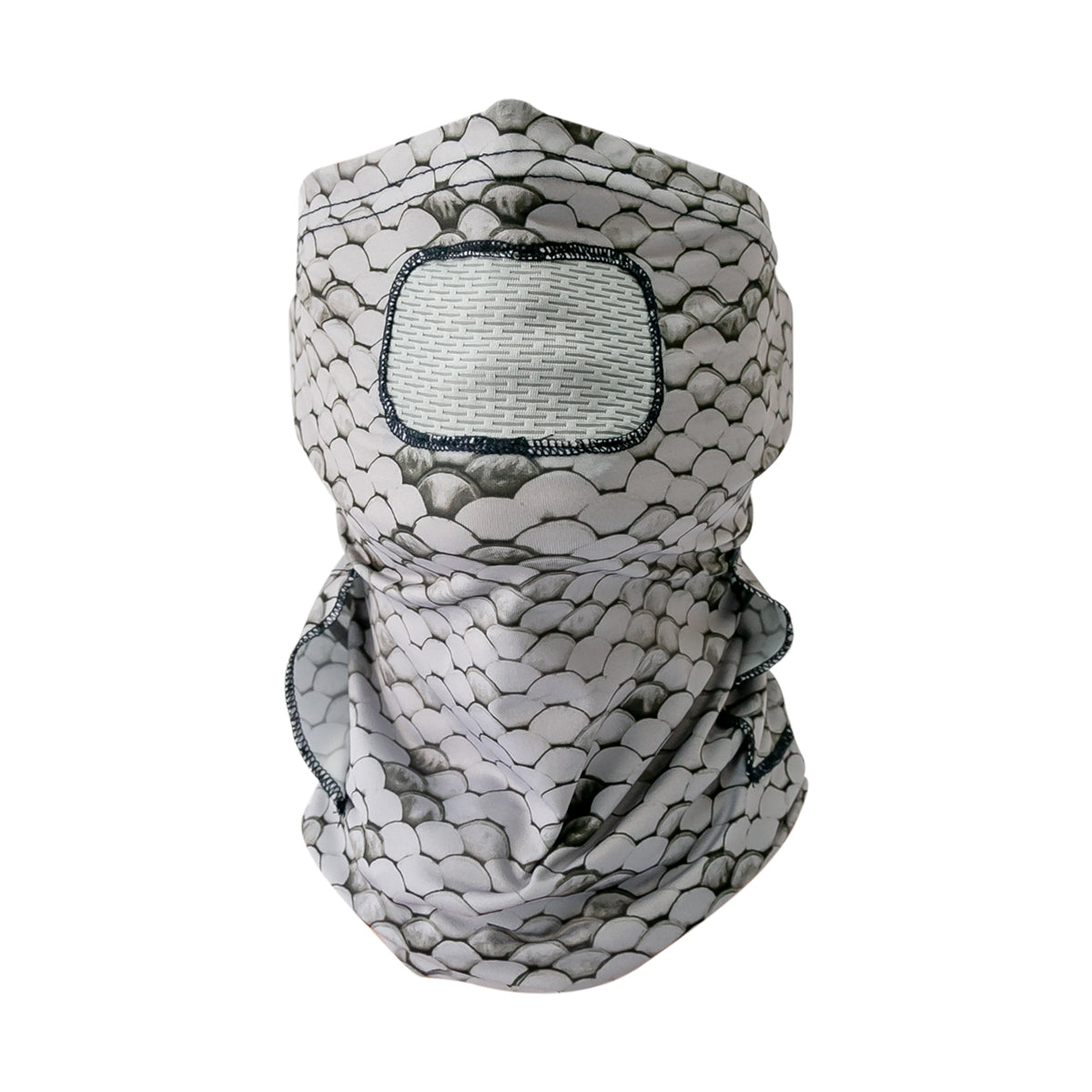 Gillz Mask - Scales AOP High Rise Grey