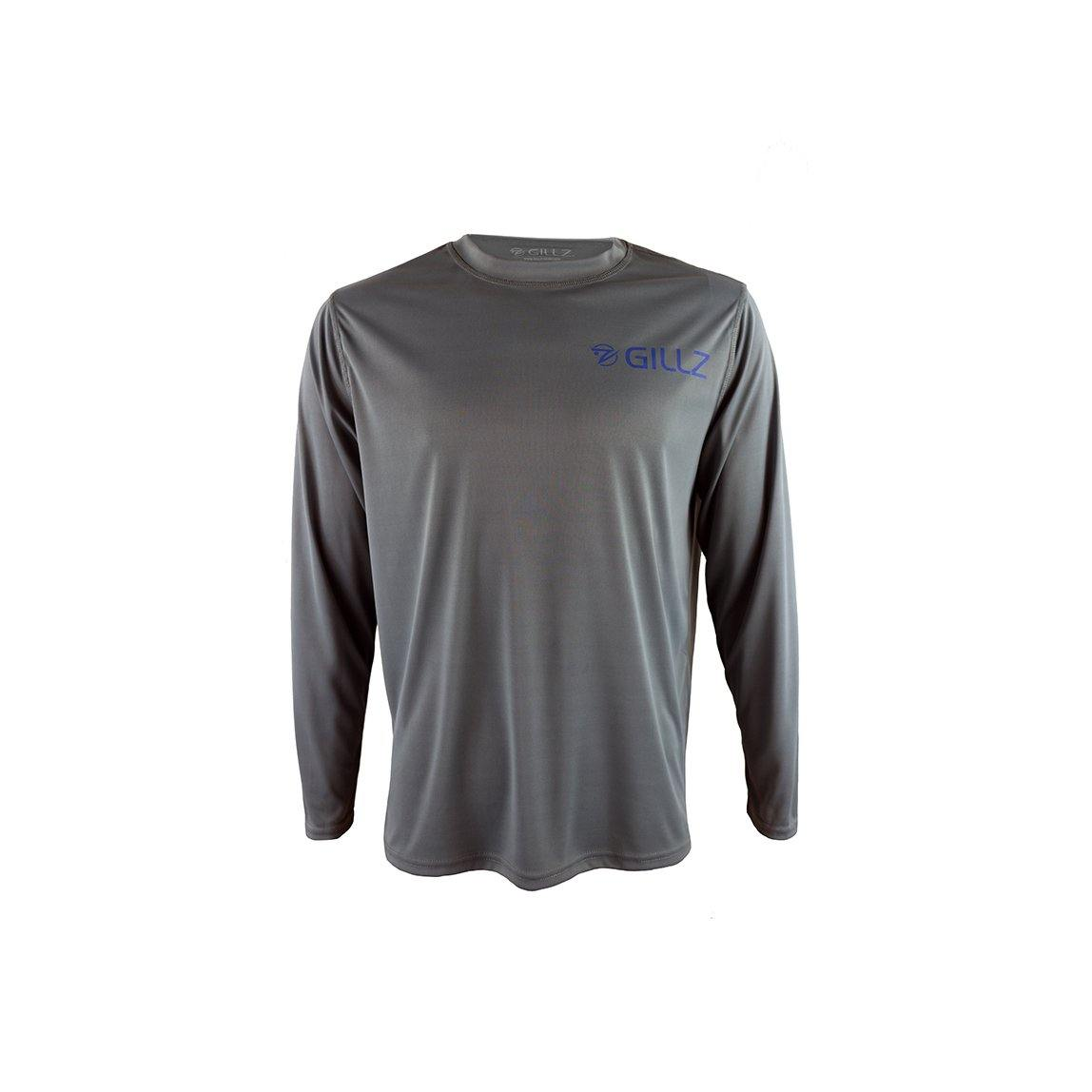 "Gillz Men's Long Sleeve UV ""Southern Mahi"" - Goblin Blue"