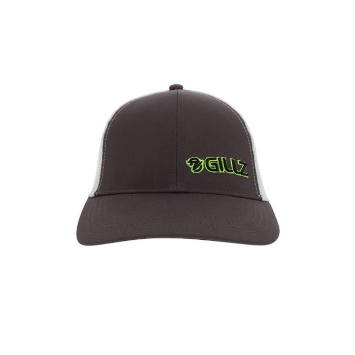 Gillz Hat - Black Two-Tone Mesh Green Neon Logo