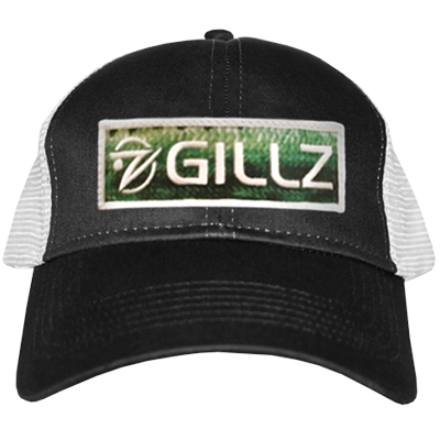 Gillz Hat - Black Bass Patch