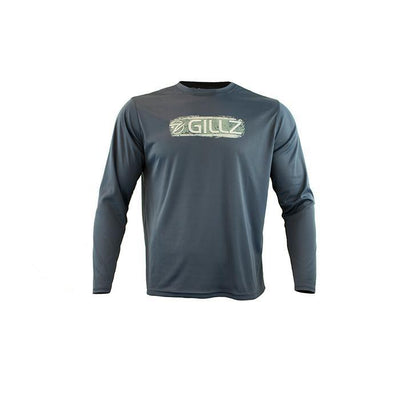 "Gillz Men's LS UV ""Grunge Scale Stripe"" - Gillz"