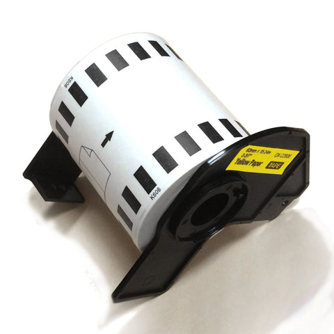Compatible Brother Label Roll Black on Yellow (DK-2606)