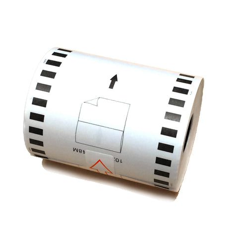 Nextpage Compatible Brother DK-2243 continuous paper label roll only 4 in x 100 ft (102mm*30.48m)