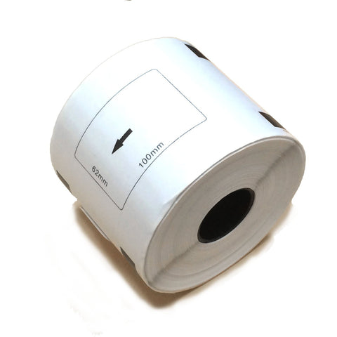 "Brother Compatible DK-1202 DK1202 (2.5"" x 4"") 62mmx100mm shipping label roll"