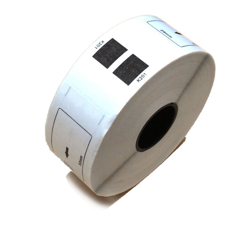 Compatible DK-1201 Die Cut paper label roll without cartridge