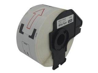 Compatible Brother Large Address Label Roll (DK-1208) With Reusable Cartridge