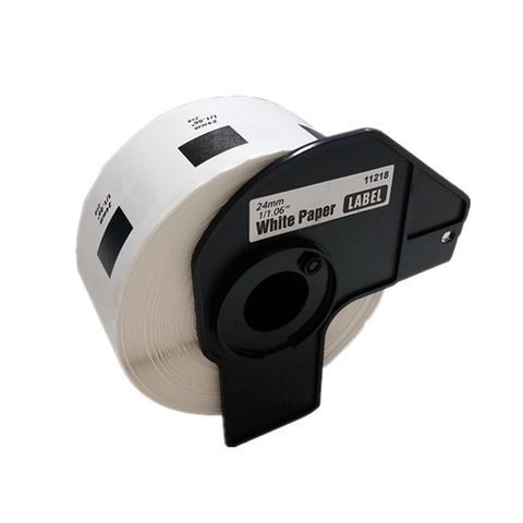 Nextpage® 1000 Labels Die-Cut 1 Inch Round Paper Labels Compatible for Brother DK-1218 1000 Labels with 1 Cartridge for 500, Ql-550, QL-570, QL-650, QL-1050, QL-1060, QL-700