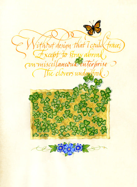 Without Design - Holly Monroe Calligraphy Print
