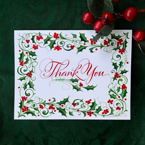Thank you with Holly Border