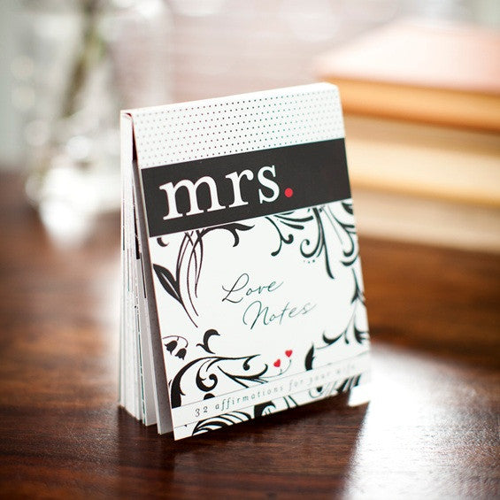 Mrs Love Notes DaySpring Holly Monroe calligraphy